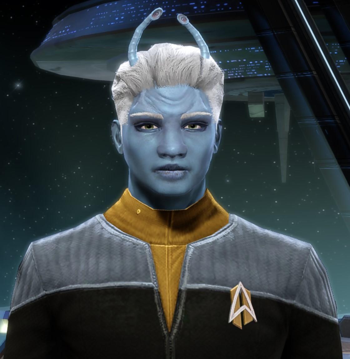 Lieutenant Commander Ashiv Th'ezereth