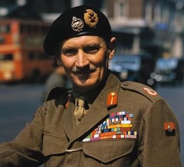 Commodore Bernard Montgomery, 21st Viscount Montgomery of Alamein
