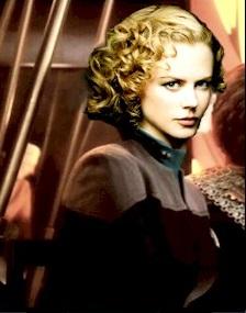 Lieutenant Commander Gwen Parri