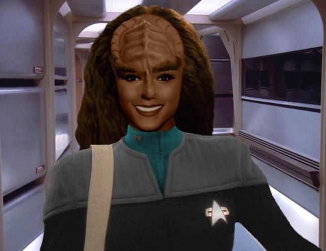 Ensign K'Porak, Daughter of K'mak