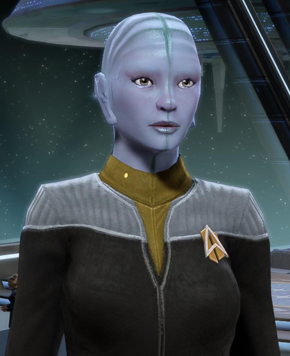 Lieutenant Commander Mav'a Tiris